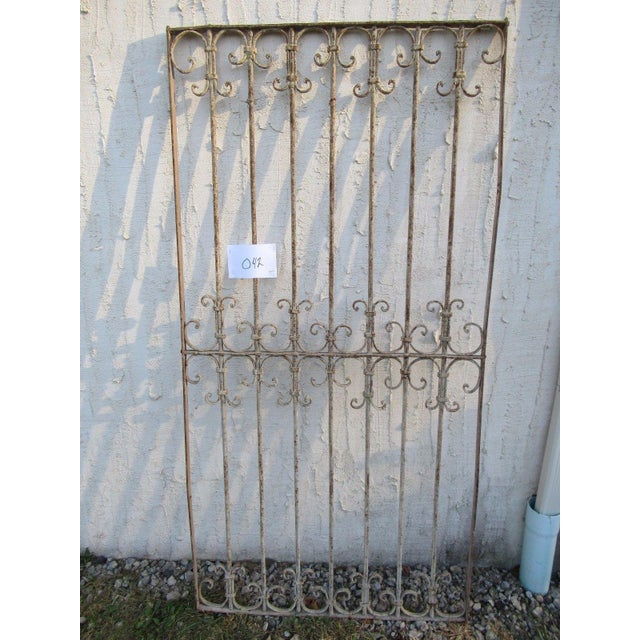 Wonderful piece of Architecture. Heavy, tight and sturdy, piece does show signs of age related wear including rust,...