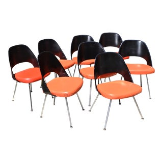 Eero Saarinen for Knoll Dining Chairs - Set of 8 For Sale