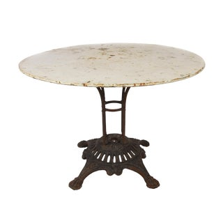 1910 Francois Garden Table For Sale