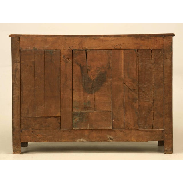 Antique French Buffet With Star Motif For Sale - Image 9 of 10