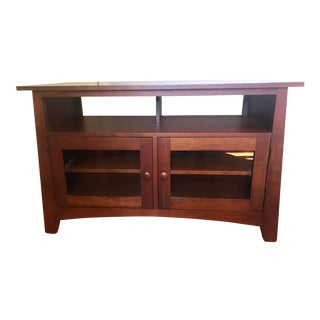 Ethan Allen Cherry Media Stand For Sale