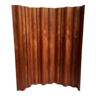Eames Molded Plywood Folding Screen in Walnut