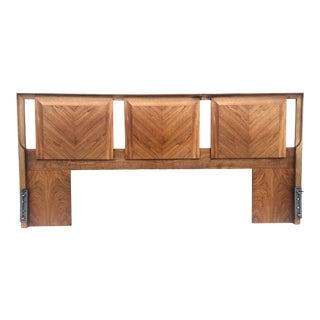 Vintage Modern King Size Headboard For Sale