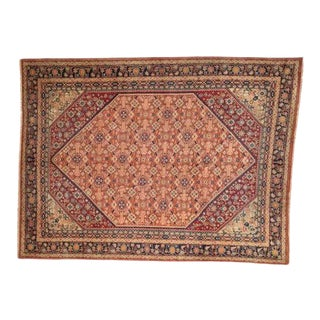 """1950s Leon Banilivi Persian Sultanabad Style Rug , 9'6"""" X 12'6"""" For Sale"""