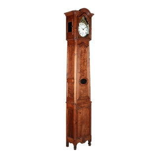 18th Century French Tall Case Clock or Horloge De Parquet For Sale