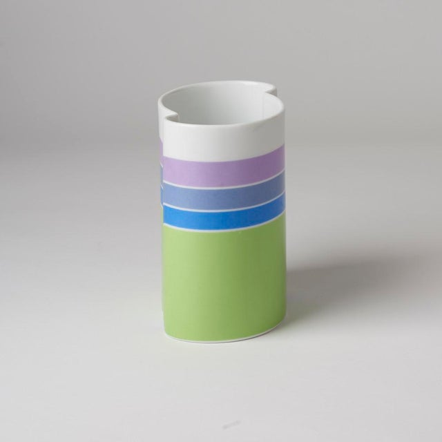 1970s Mid Century/Op Art Vase For Sale - Image 5 of 7