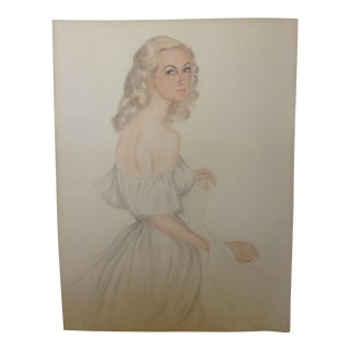 1947 Hollywood Female Portrait For Sale