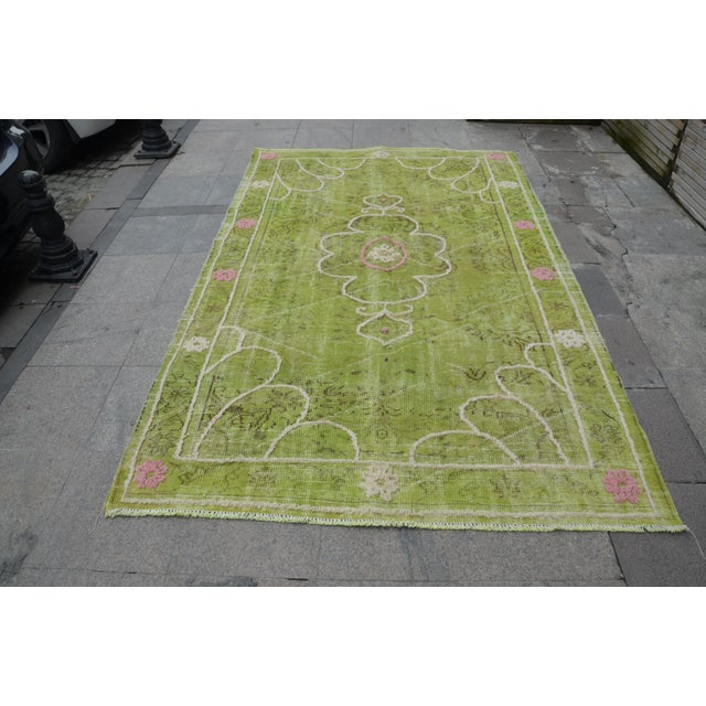 "Turkish Oushak Rug - 8'8"" x 5'5"" - Image 2 of 7"