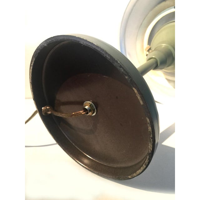 Mid-Century Flying Saucer Table Lamp - Image 7 of 8