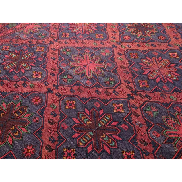 Traditional Sumak Carpet For Sale - Image 3 of 7