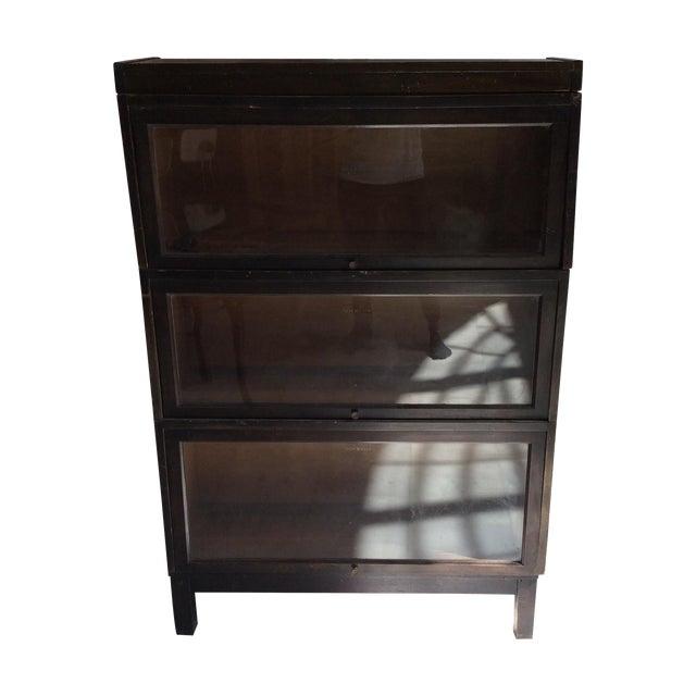 Wooden Lawyer's Bookshelf - Image 1 of 4