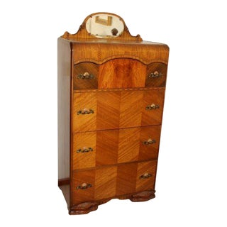 1930s Vintage Art Deco Dresser For Sale