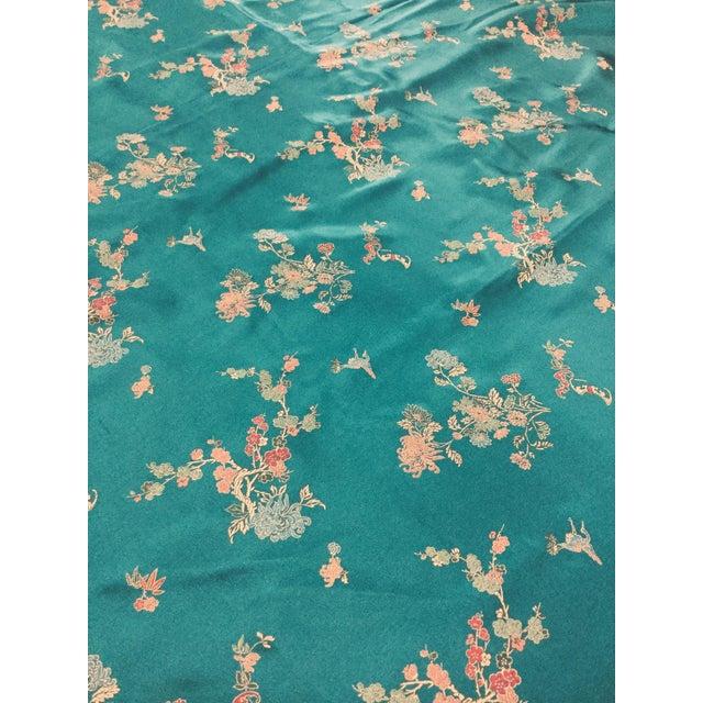 Chinese Print Silk Rayon Polyester