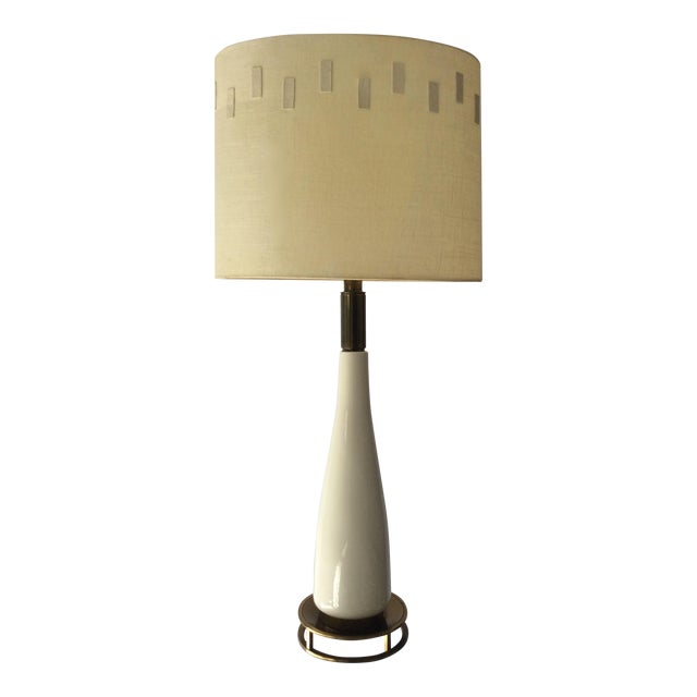 Large Mid-Century Stiffel Table Lamp For Sale