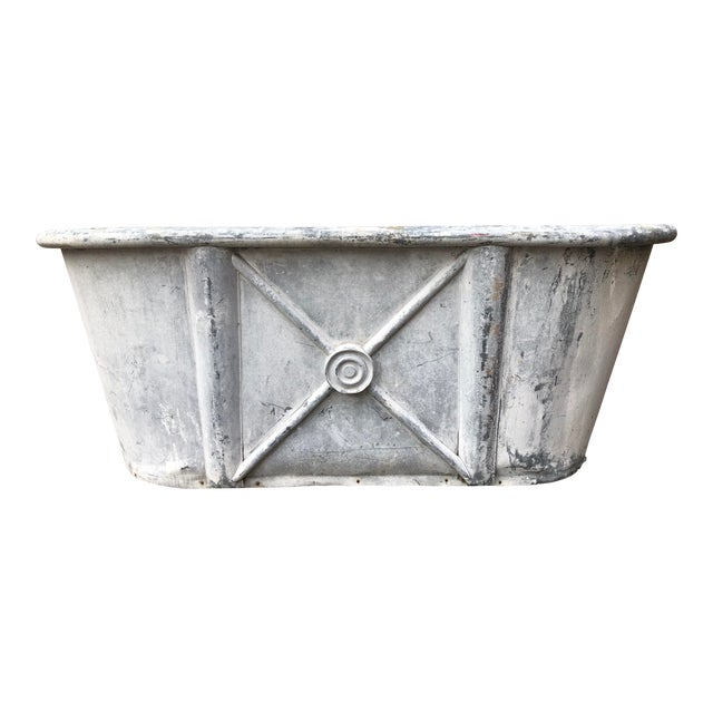 19th Century Antique French Bathtub For Sale