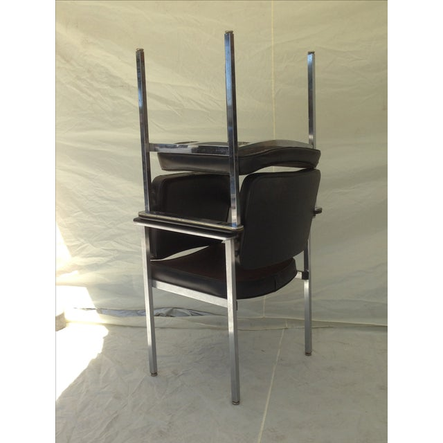 All Steel Co. Office Club Chairs - A Pair - Image 8 of 8