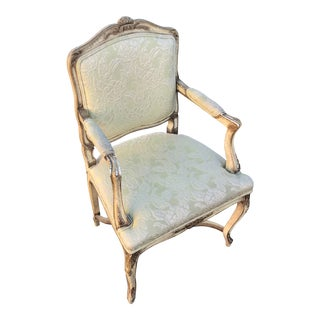 1920s Vintage French Provincial Armchair For Sale
