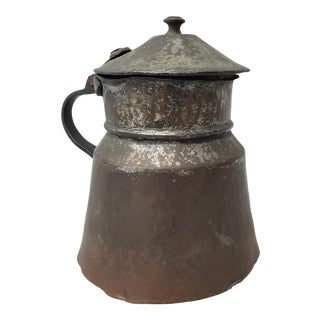 18th Century Hand Forged Tankard For Sale