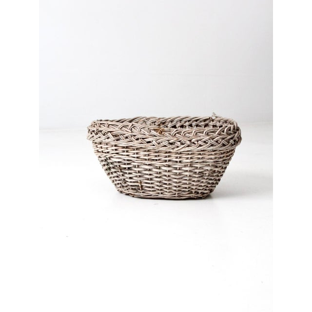 Antique Wicker Basket For Sale - Image 12 of 12