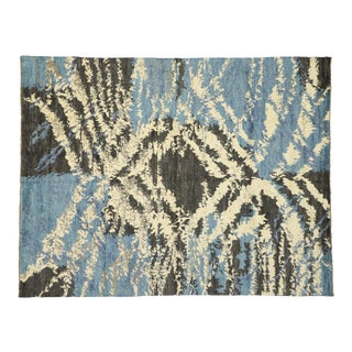 New Contemporary Moroccan Rug - 10'04 X 13'05 For Sale