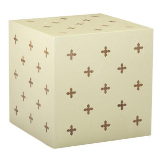 Edward Wormley for Dunbar Parquetry Cube For Sale