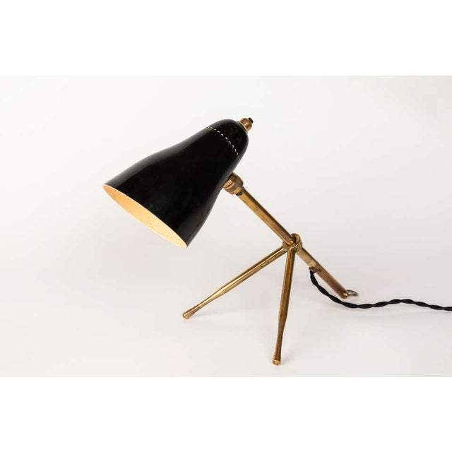 """1950s Giuseppe Ostuni """"Ochetta"""" Wall or Table Lamp for O-Luce For Sale In Los Angeles - Image 6 of 13"""