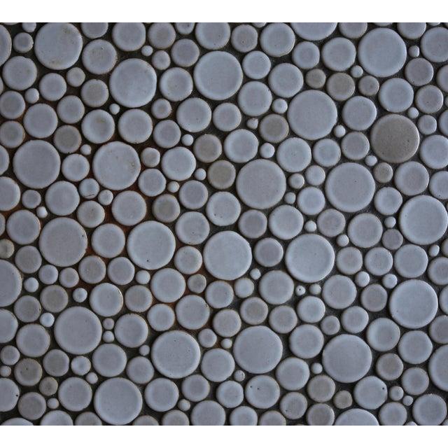 Wood Gordon Martz Ceramic Tile-Top Occasional Table, Circa 1960 For Sale - Image 7 of 11