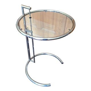 Mid-Century Modern Design Within Reach Adjustable Side Table For Sale