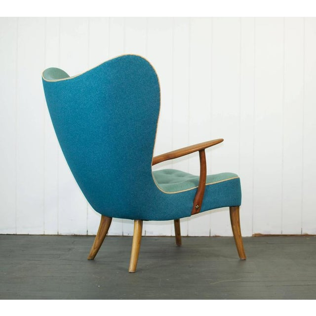 Mid-Century Modern Madsen and Schubell Pragh Lounge Chair For Sale - Image 3 of 9