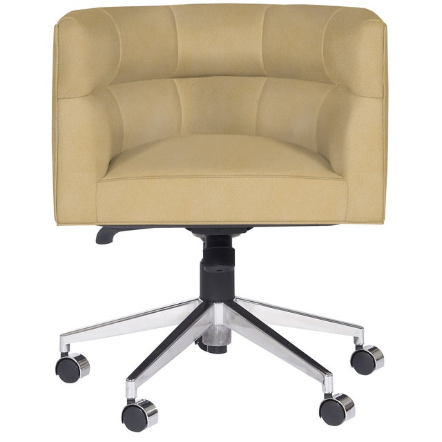 Transitional Casa Cosima Perry Desk Chair, Gramercy Dijon For Sale - Image 3 of 4