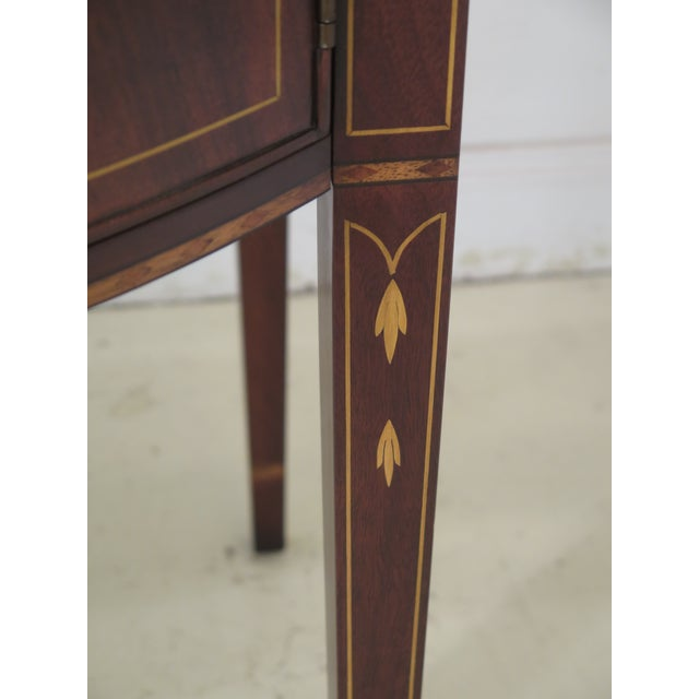 1980s Vintage Henkel Harris Mahogany 2367a Inlaid Sideboard For Sale - Image 10 of 13