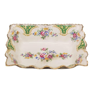 Vintage James Kent Porcelain Floral Serving Dish