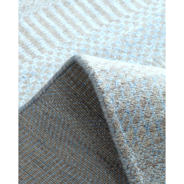 """2010s Contemporary Hand Loomed Area Rug 7' 11"""" x 9' 11"""" For Sale - Image 5 of 9"""