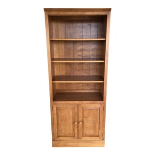 (B) Ethan Allen Country Colors Bookcase Cabinet (Finish 214) For Sale