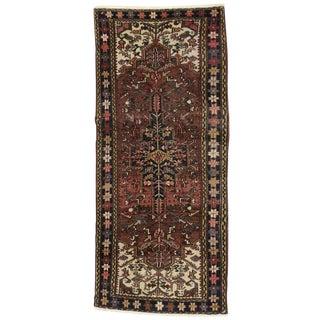 20th Century Persian Heriz Runner - 3′8″ × 8′4″ For Sale