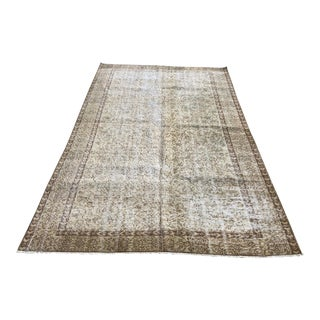 Vintage Turkish Anatolian Bohemian Carpet - 5′1″ × 8′7″ For Sale
