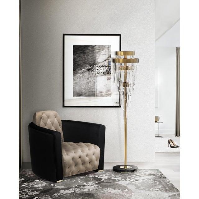 Mid-Century Modern Covet Paris Babel Floor Lighting For Sale - Image 3 of 10