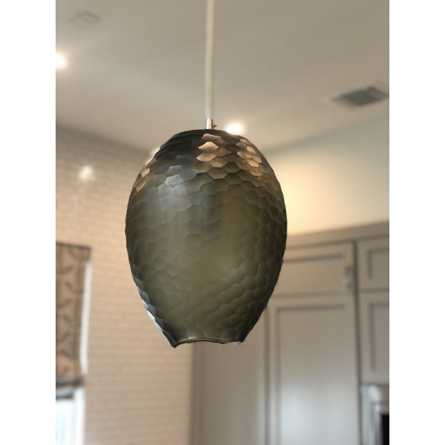 Brown Dwight Pendant Light by Ateriors Home For Sale - Image 8 of 8