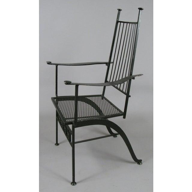 Mid-Century Modern Set of Ten Rare Salterini El Prado Chairs For Sale - Image 3 of 13