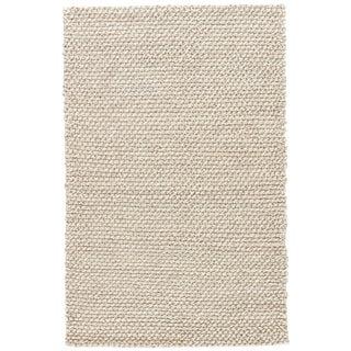 Jaipur Living Alta Handmade Solid Gray/ White Area Rug - 5′ × 8′ For Sale