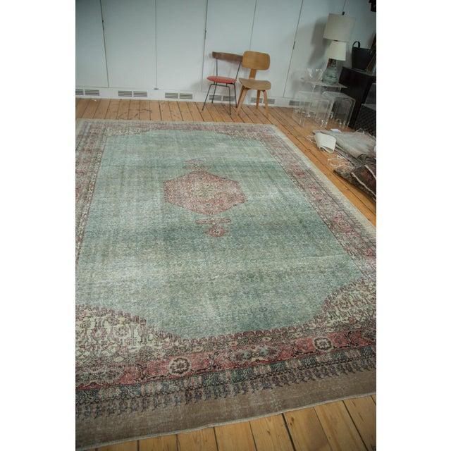 "Distressed Oushak Carpet - 8'6"" X 11'6"" - Image 4 of 10"
