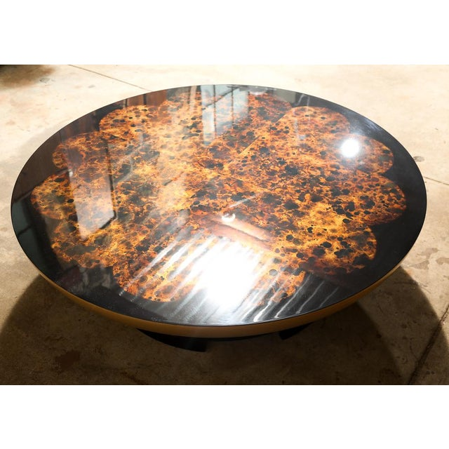 Theodore Muller for Kittinger Lotus Coffee Table - Image 2 of 10