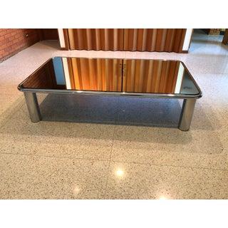 Contemporary Mario Bellini Mirrored Chrome Table Preview