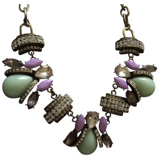 Charm Chain - Lavender & Light Green