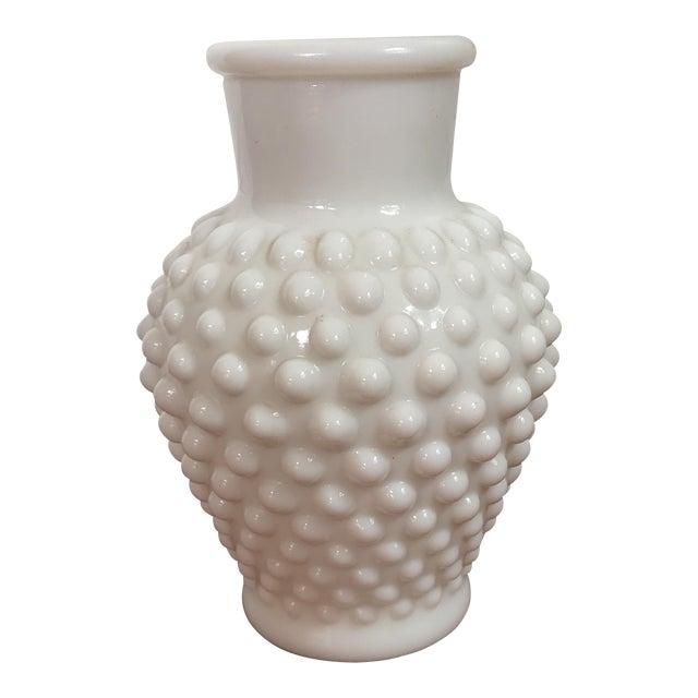 Vintage Milk Glass Vase Chairish