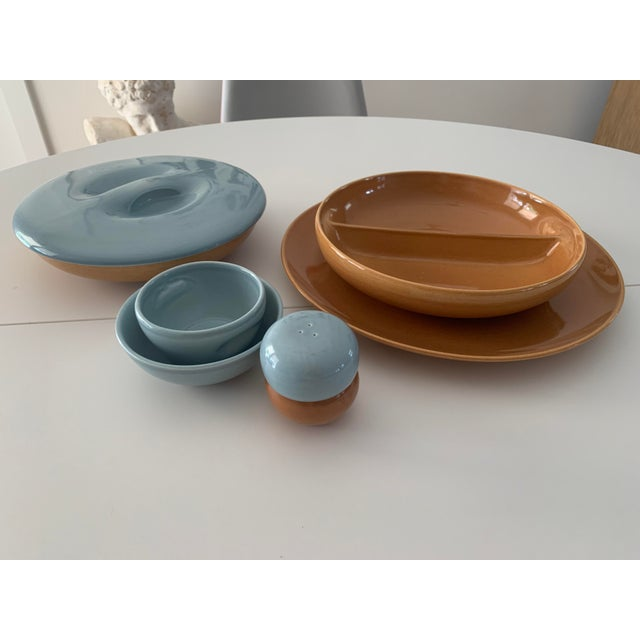 Mid-Century Modern 1940s Iroquois Casual China by Russell Wright - 8 Pieces For Sale - Image 3 of 13