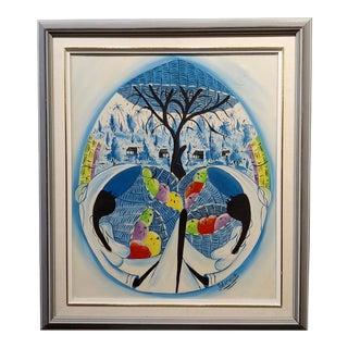 Emmanuel Jolicoeur - the Bread Baskets -OIl Painting For Sale