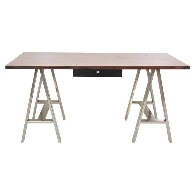 Modern Design Sawhorse Leg Desk - Image 1 of 6