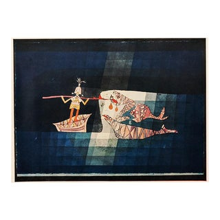"1958 Paul Klee ""Battle Scene From the Comic Operatic Fantasy"", First English Edition Lithograph For Sale"