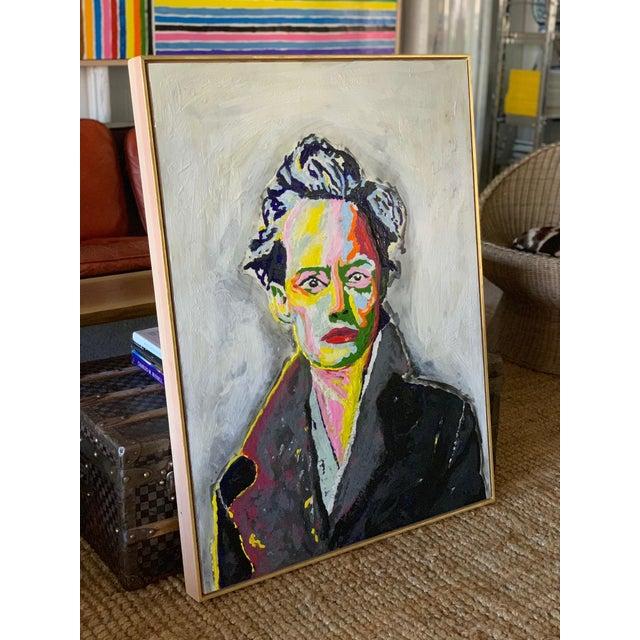 2010s John O'Hara. Av. Encaustic Painting. For Sale - Image 5 of 10